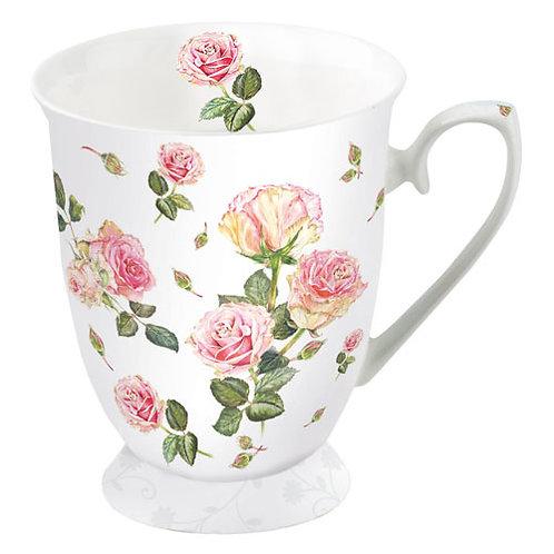 Tasse klein Rosen
