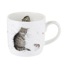 Wrendale design Royal Worcester Tasse Katze