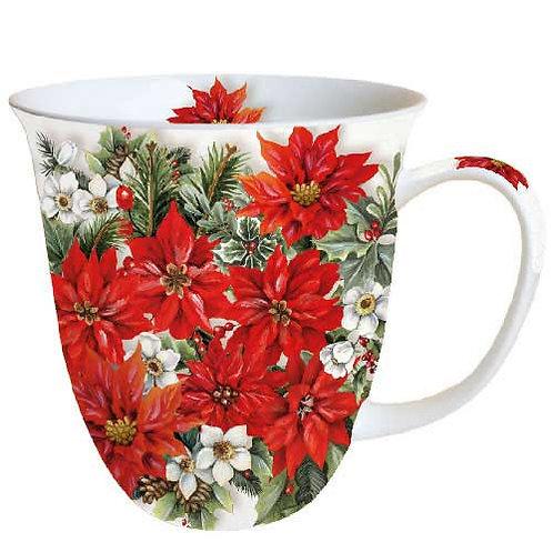 Tasse groß Christrose