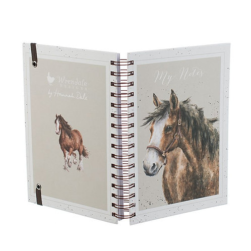 Wrendale Designs Notizbuch A5 Pferd