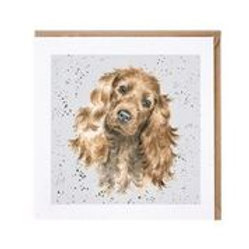 "Wrendale Designs "" a Dog's Life"" Karte Cocker Spaniel"
