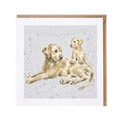 """Wrendale Designs """" a Dog's Life"""" Karte Labrador"""