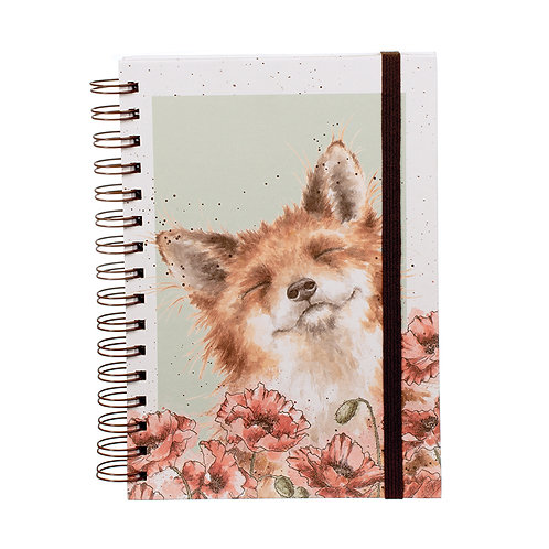 Wrendale Designs Notizbuch A5 Fuchs
