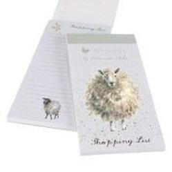 Wrendale Designs Einkaufsblock Schaf