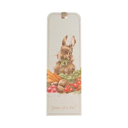 Wrendale Designs Lesezeichen Hase mit Gemüse