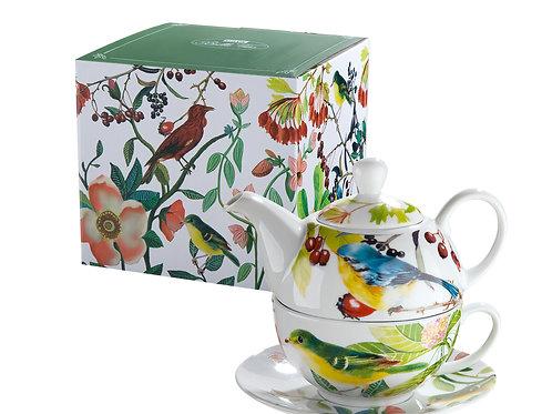 Teekanne set Birds Paradise