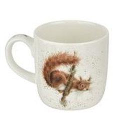 Wrendale design Royal Worcester Tasse Eichhörnchen