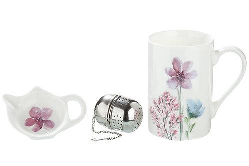 Teeset 3-teilig Sweet Blossom