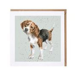 "Wrendale Designs "" a Dog's Life"" Karte Beagle"