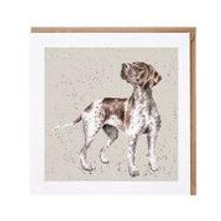 "Wrendale Designs "" a Dog's Life"" Karte Deutsch Kurzhaar"