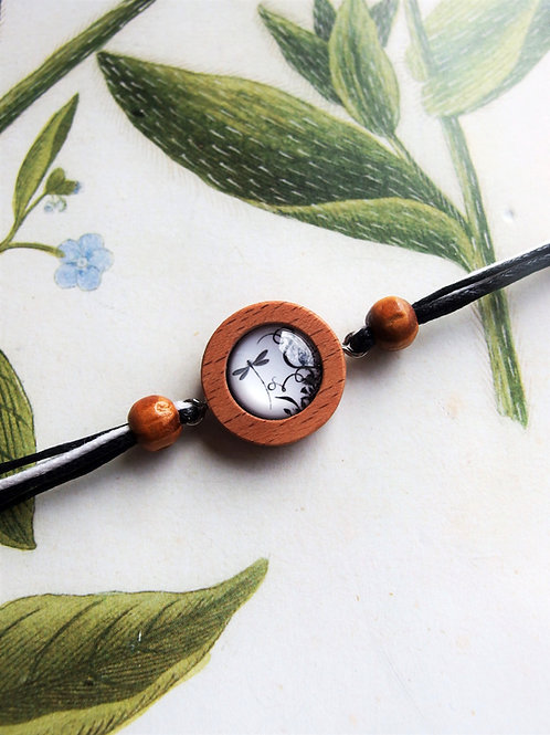 Armband Nuss Libelle