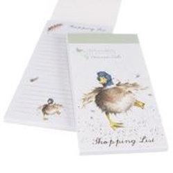 Wrendale Designs Einkaufsblock Ente