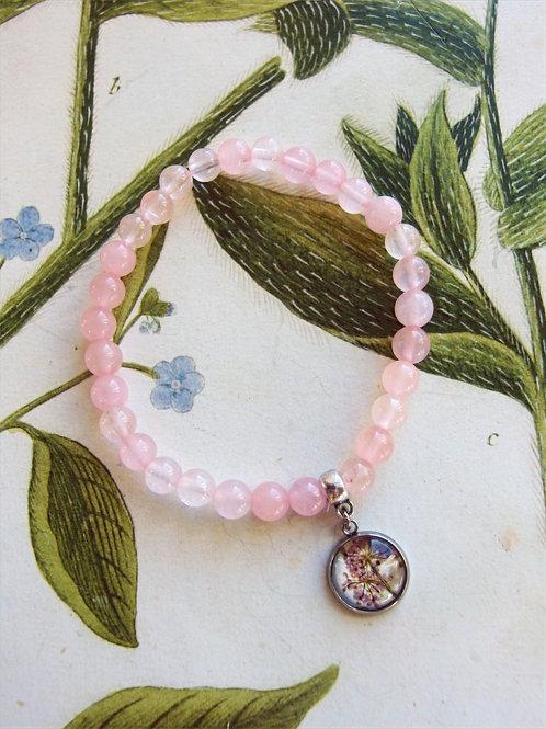 Armband Edelstein Doldenblüten