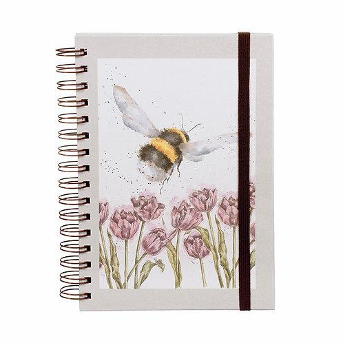 Wrendale Designs Notizbuch A5 Biene