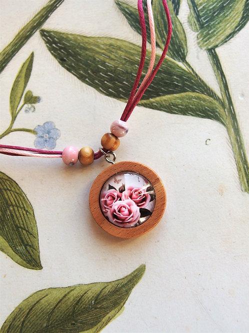Halskette klein Rosen