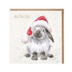 Wrendale Designs Karte Weihnachten Hase