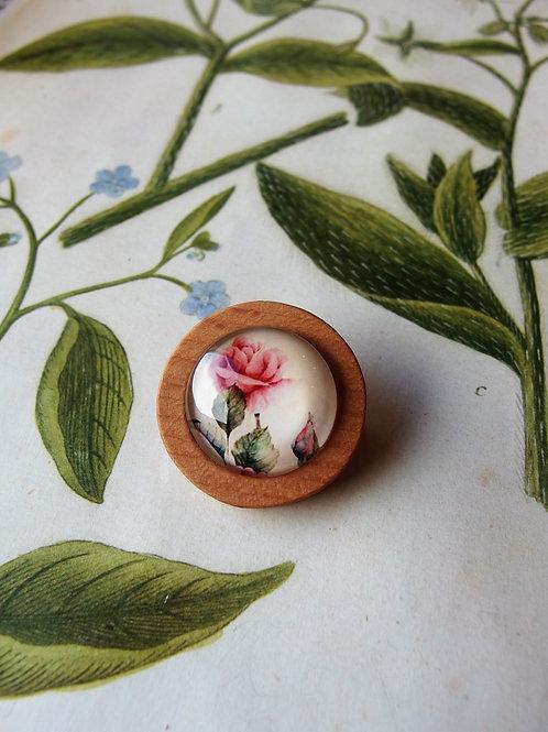 Brosche Rose