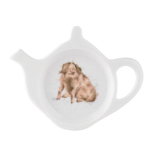 Wrendale Design Royal Worcester Teebeutelschüsselchen Schwein
