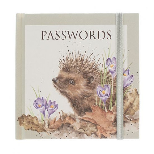 Wrendale Designs Passwortbuch Igel