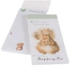 Wrendale Designs Einkaufsblock Eichhörnchen