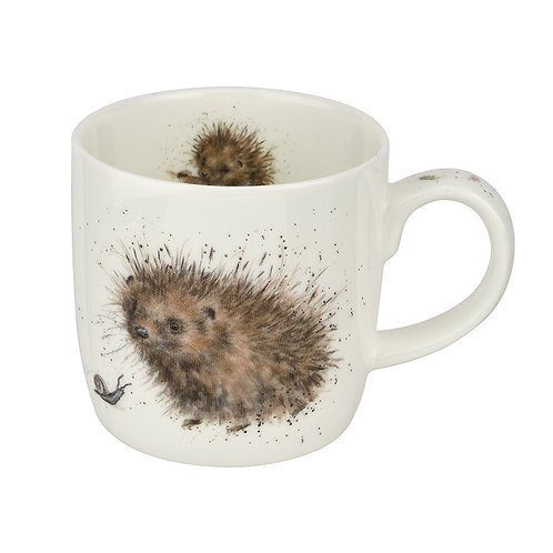 Wrendale design Royal Worcester Tasse Igel