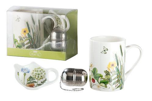 Teeset 3-teilig Wild Flowers