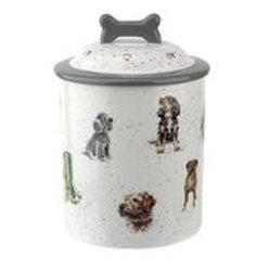 Wrendale design Royal Worcester Hundekeksbehälter