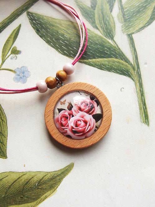 Halskette groß Rosen