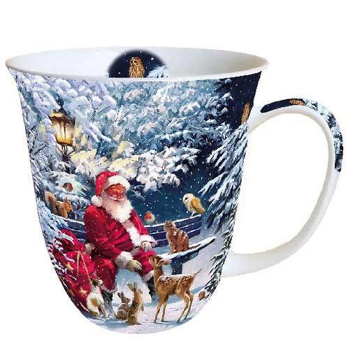Tasse groß Weihnachtsmann