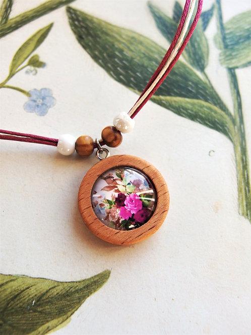 Halskette klein Blumenstrauß