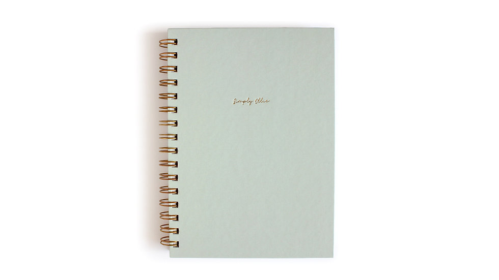 Weekly Planner A5, Sea Breeze