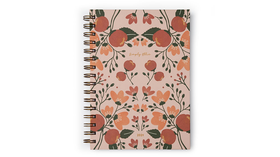 Weekly Planner 2021, Bloom