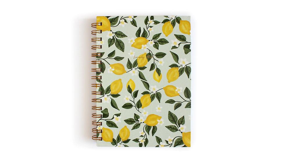Weekly Planner A5, Lemon