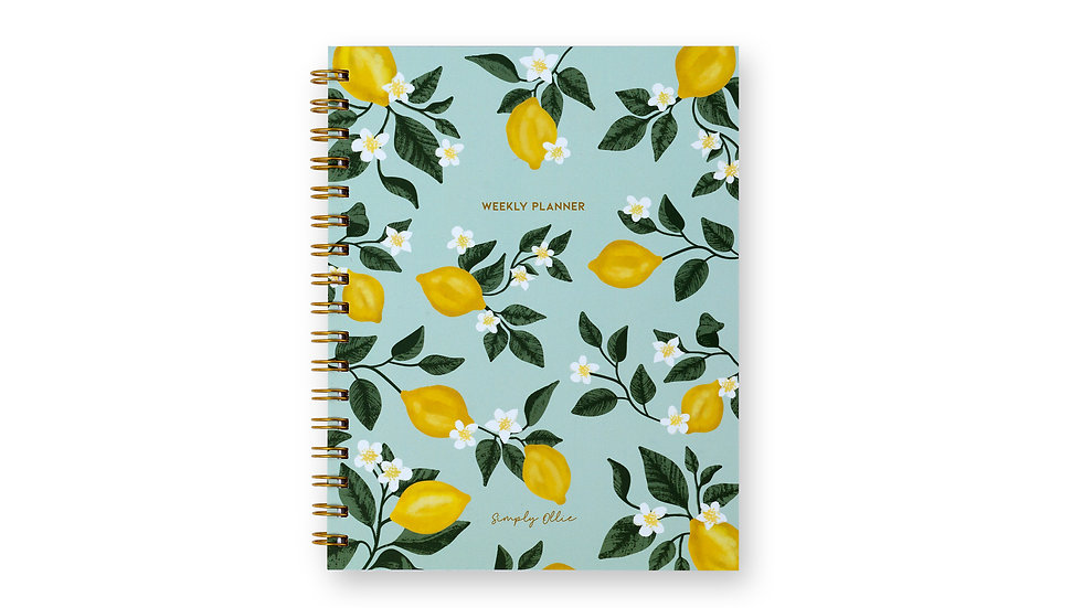 Weekly Planner, Lemon