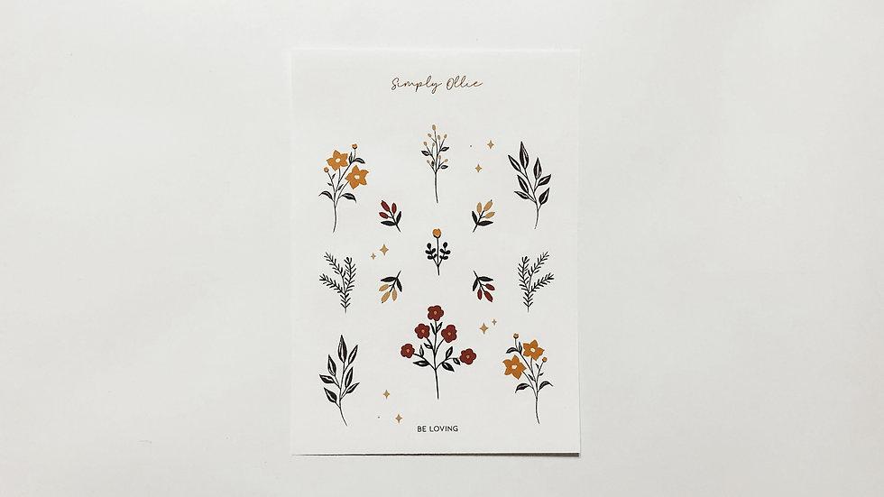 Be Loving Stickers