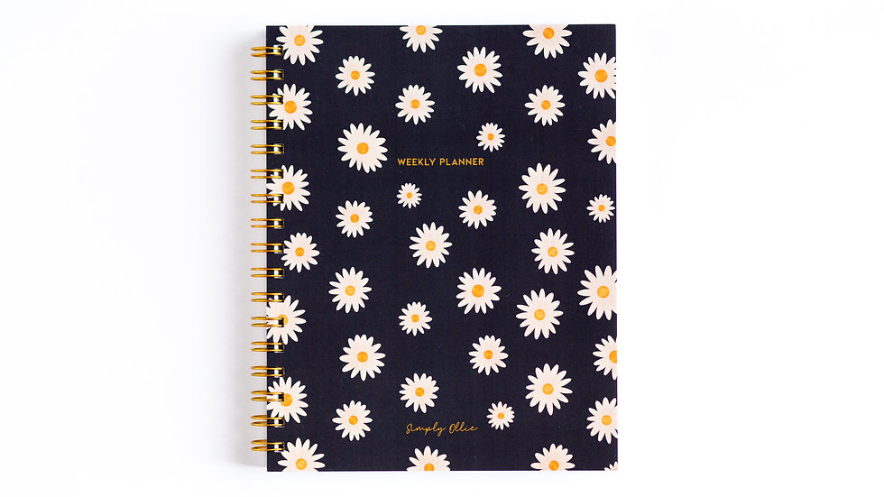Weekly Planner, Daisy