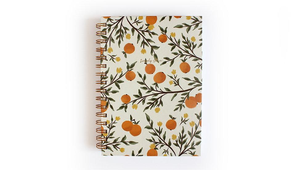 Weekly Planner A5, Oranges