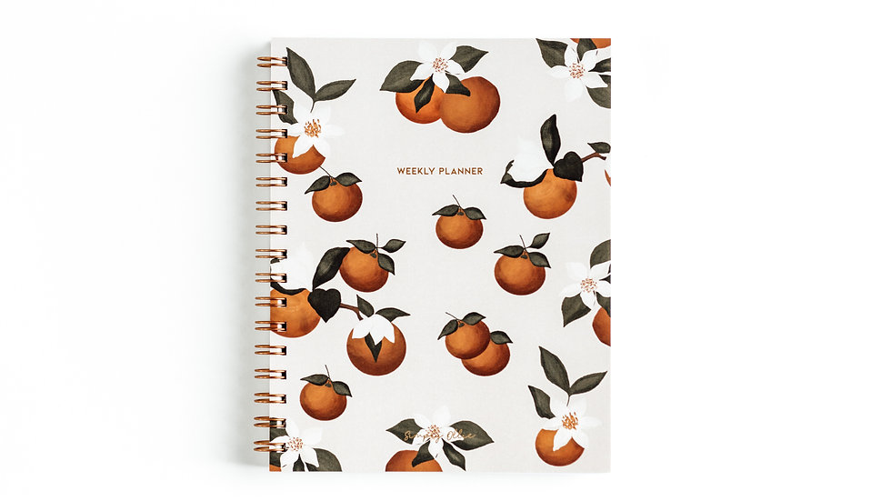 Weekly Planner, Peaches