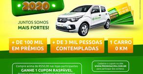 Sorteio de cinco vales compras de R$ 500,00 da Promoção Palotina Premiada será neste sábado