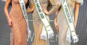 Palotinense Eloísa Mafacioli é eleita Primeira Princesa no concurso Miss Paraná 2020