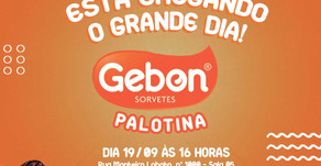 Gebon Sorvetes inaugura sábado (19/09/2020) em Palotina