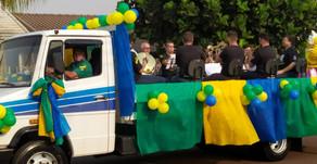 Palotina comemora 7 de setembro com carreata visando patriotismo e evitando aglomeração