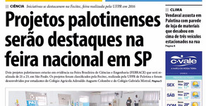 Destaques da edição impressa do jornal Folha de Palotina 17/03/2017