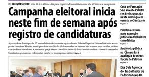 Destaques do jornal Folha de Palotina de 25/09/2020