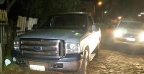 Caminhonete furtada em Maripá é encontrada abandonada em Guaíra