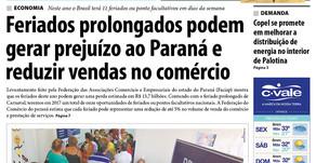 Destaques da edição impressa do jornal Folha de Palotina de 24/02/2017