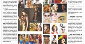 Coluna Moda e Beleza da Folha de Palotina destaca maquiagens de Carnaval