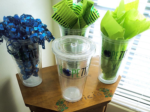 16oz. Plastic Tumbler with lid