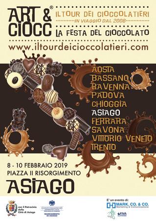 ART & CIOCC AD ASIAGO! Il Tour dei Cioccolatieri 2019