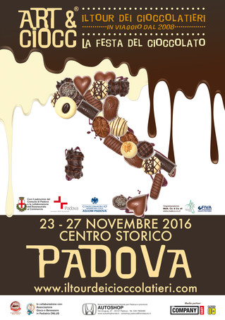 Dal 23 al 27 novembre Art & Ciocc è in centro a Padova con tante novità